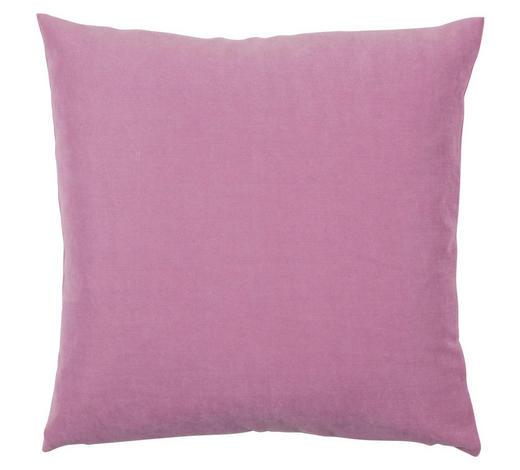 KISSENHÜLLE Pink, Magnolie 40/40 cm  - Pink/Magnolie, Basics, Textil (40/40cm) - Novel