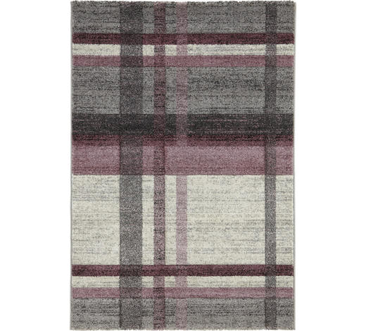 WEBTEPPICH - Beige/Altrosa, KONVENTIONELL, Naturmaterialien/Textil (120/170cm) - Novel