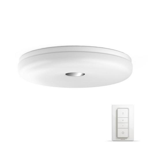 DECKENLEUC. HUE WHITE AMBIANCE - Weiß, Design, Kunststoff (36/5,9/36cm) - Philips