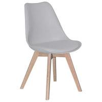 STUHL In Holz, Textil Eichefarben, Weiß   Eichefarben/Weiß, Design, ...