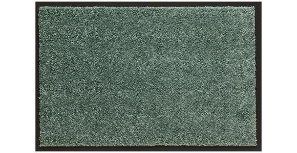 FUßMATTE 60/80 cm  - Mintgrün, KONVENTIONELL, Kunststoff/Textil (60/80cm) - Esposa