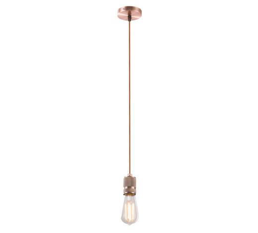 SCHNURPENDEL - Braun/Kupferfarben, Basics, Metall (10/150cm)