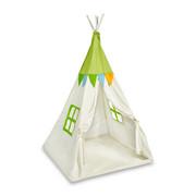 Spielzelt - Naturfarben/Grün, Basics, Textil (100/100/130cm) - My Baby Lou