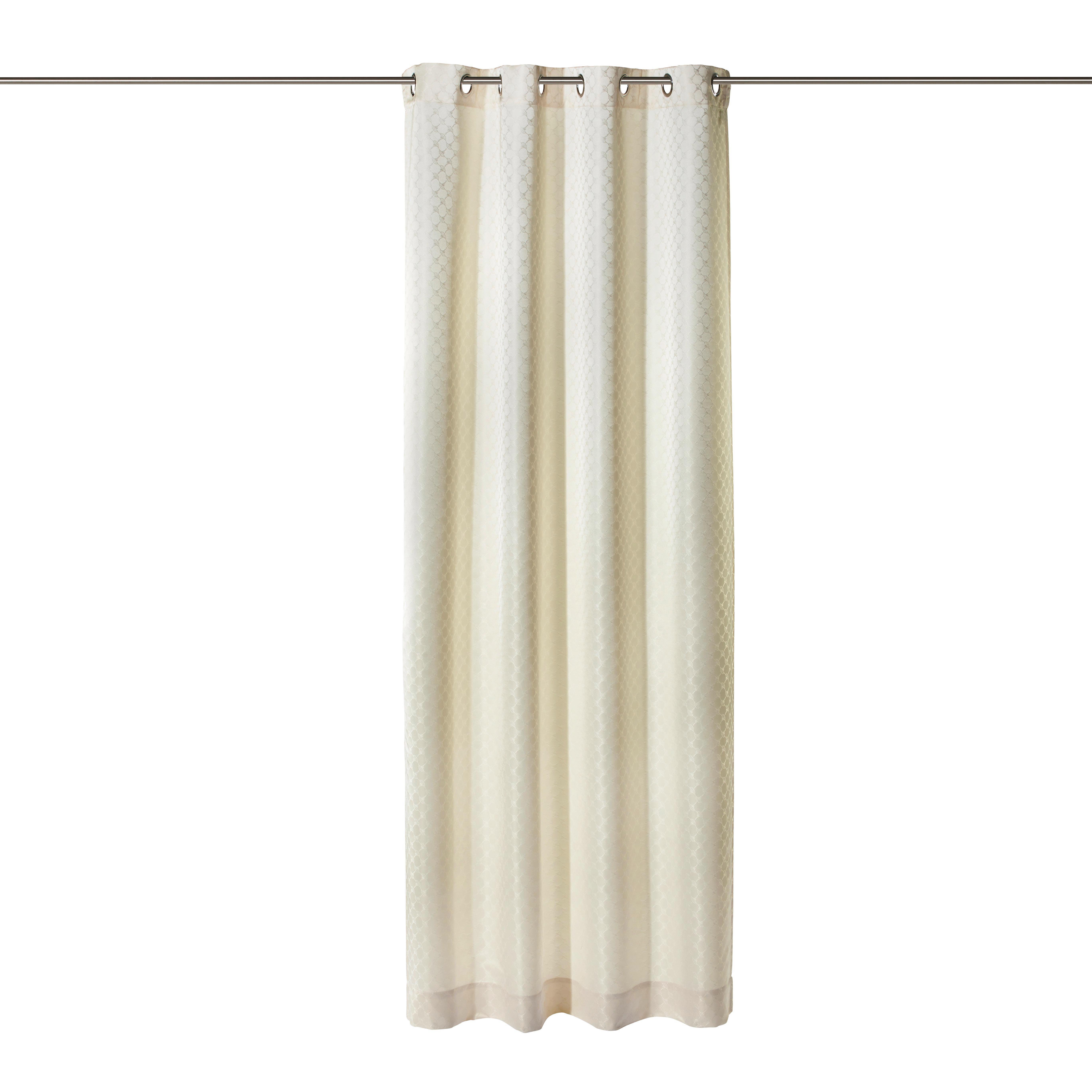 ÖSENSCHAL  blickdicht   140/250 cm - Naturfarben, Basics, Textil (140/250cm) - JOOP!