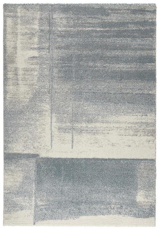 WEBTEPPICH  160/230 cm  Blau, Creme - Blau/Creme, Basics, Textil (160/230cm) - Novel