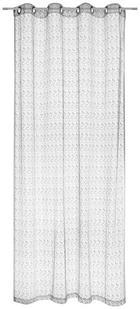ZAVJESA S RINGOVIMA - siva, Design, tekstil (140/245cm) - Esposa