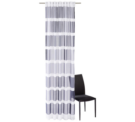 FERTIGVORHANG  transparent  135/250 cm   - Silberfarben, Design, Textil (135/250cm) - Esposa
