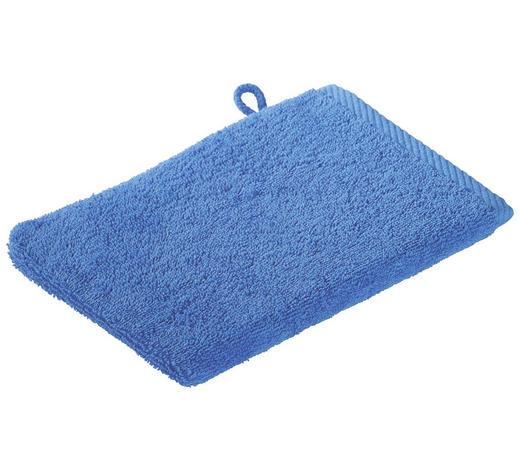 WASCHHANDSCHUH - Blau, KONVENTIONELL, Textil (16/22cm) - Esposa