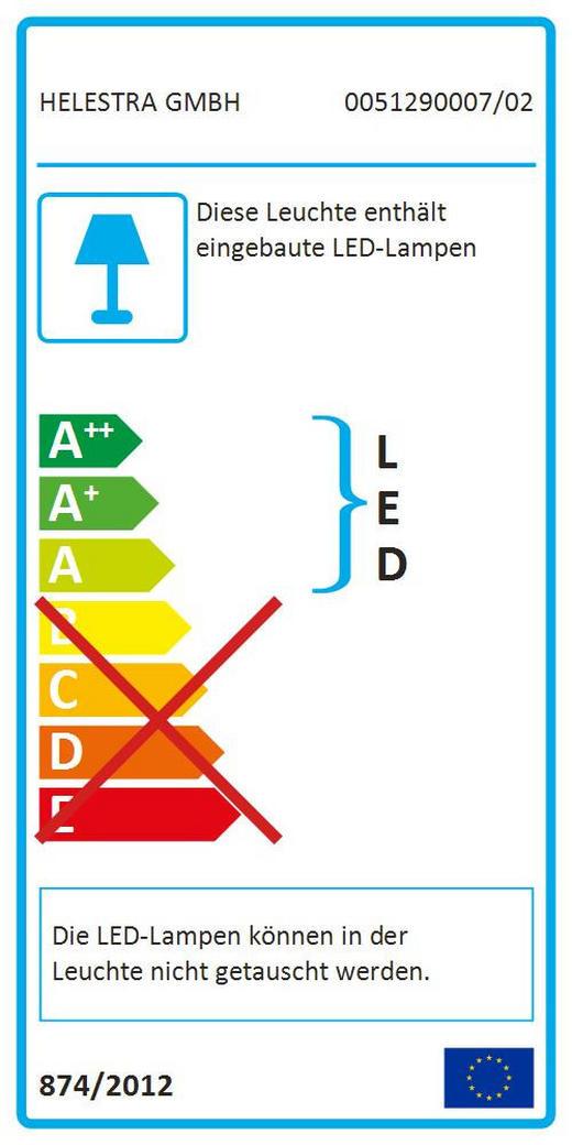 LED-HÄNGELEUCHTE - LIFESTYLE, Metall (109/4,5 /210cm)