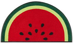 FUßMATTE 50/85 cm Obst Rot - Rot, Basics, Kunststoff/Textil (50/85cm) - Esposa