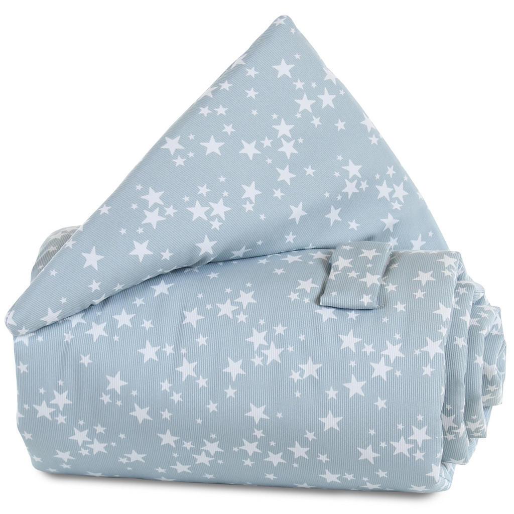 Babybay Verschlussgitterschutz pique babybay blau