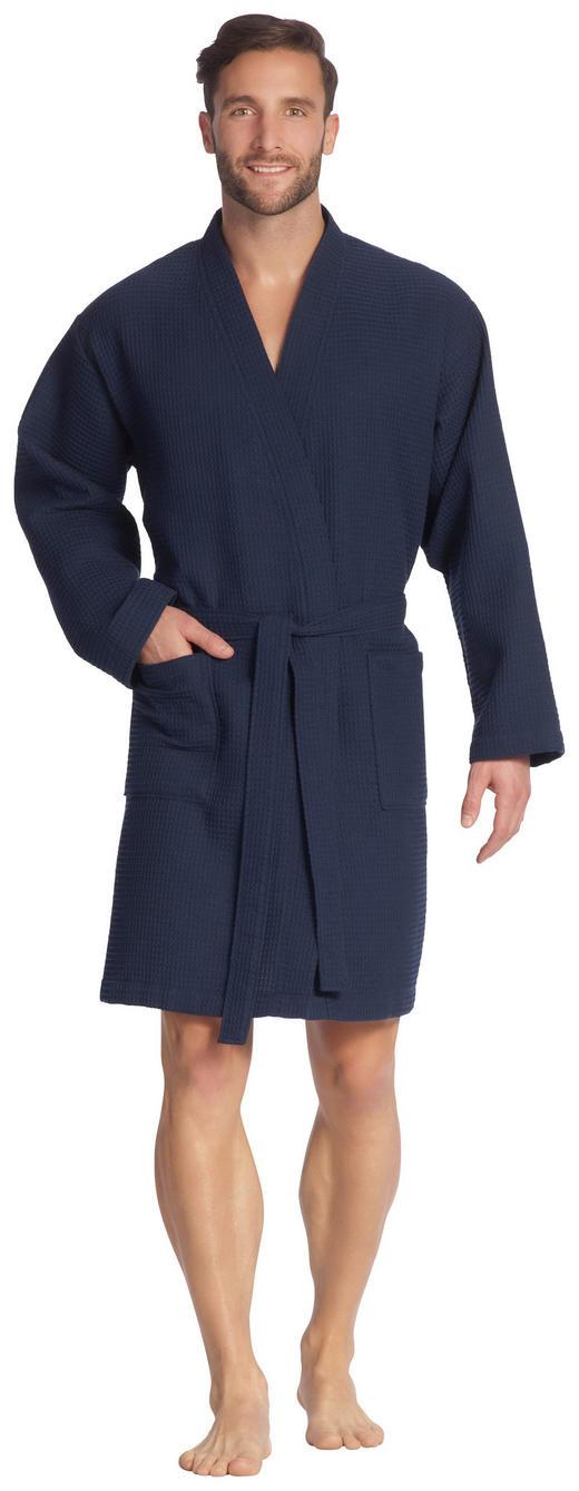 BADEMANTEL Rom  gr S - Dunkelblau, Basics, Textil (S) - Vossen