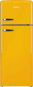 Kühl-Gefrier-Kombi KGC15633Y - Gelb, Basics, Metall (55/144/61,5cm)