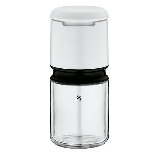 GEWÜRZMÜHLE - Klar/Edelstahlfarben, Basics, Glas/Keramik (13cm) - WMF