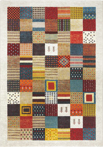 VÄVD MATTA 133/200 cm  - multicolor, Lifestyle, textil (133/200cm) - Novel