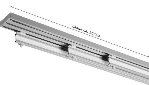 FLÄCHENVORHANGSCHIENE  260 cm - Silberfarben, KONVENTIONELL, Metall (260cm) - HOMEWARE