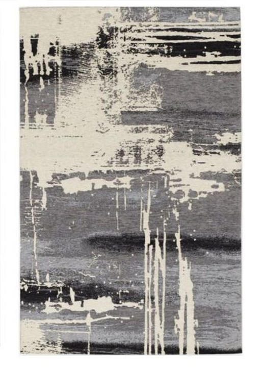 VINTAGE-TEPPICH - Grau, Design, Textil (120/180cm) - Novel