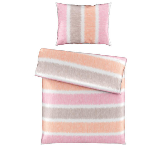 BETTWÄSCHE 140/200 cm - Rosa, KONVENTIONELL, Textil (140/200cm) - Boxxx