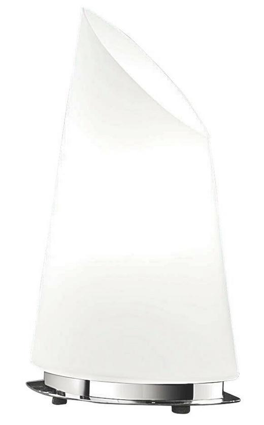 TISCHLEUCHTE - Weiß, KONVENTIONELL, Glas (19/33cm) - BANKAMP