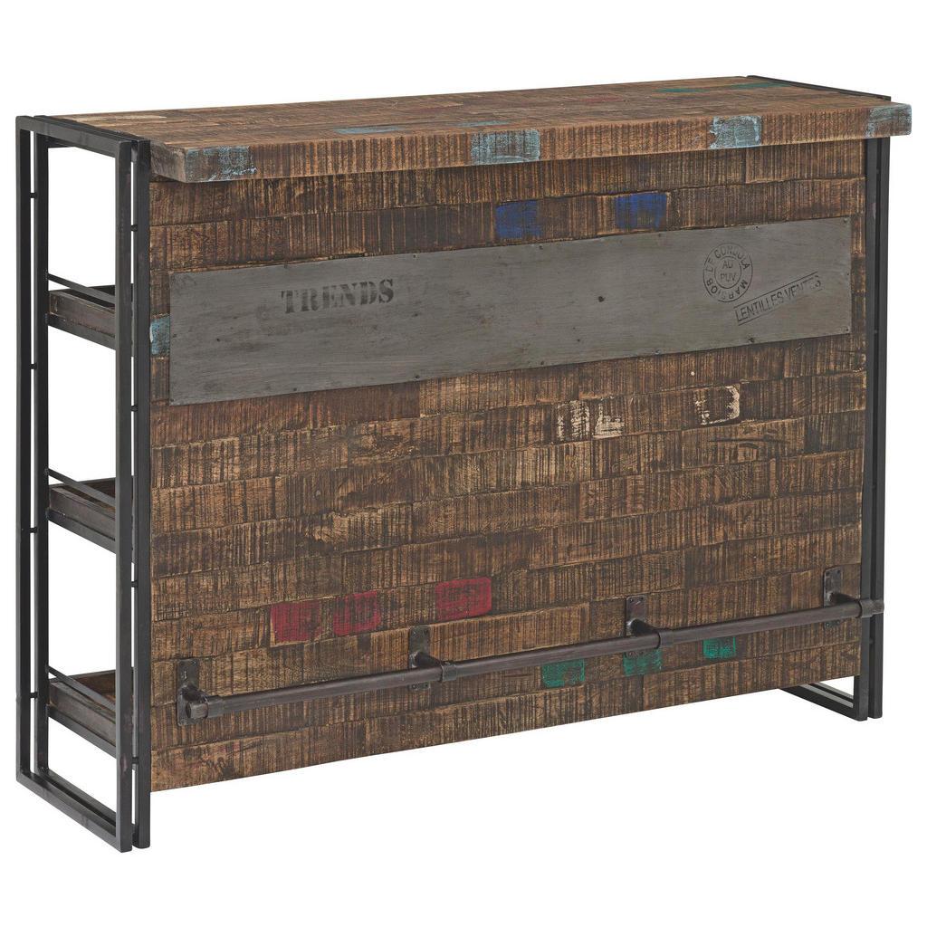 XXXL BAR Mangoholz massiv lackiert, gebeizt Schwarz   Küche und Esszimmer > Bar-Möbel > Bars   Holz   XXXL Shop