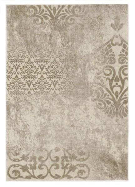 WEBTEPPICH  65/130 cm  Beige, Creme - Beige/Creme, Basics, Textil (65/130cm) - Novel