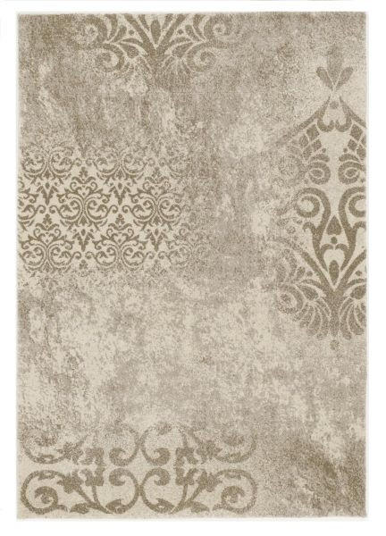 WEBTEPPICH  Beige, Creme  200/200 cm - Beige/Creme, Textil (200/200cm) - NOVEL