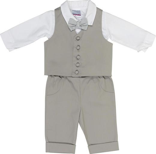 TAUFANZUG - Hellgrau/Weiß, Basics, Textil (62) - My Baby Lou