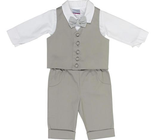 TAUFANZUG - Hellgrau/Weiß, Basics, Textil (62null) - My Baby Lou
