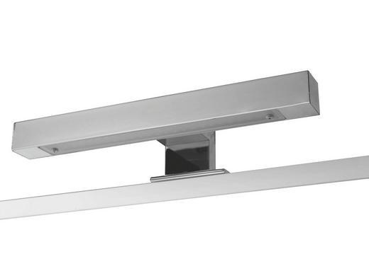 AUFBAULEUCHTE - Chromfarben, Design, Metall (30/5/7cm) - Carryhome