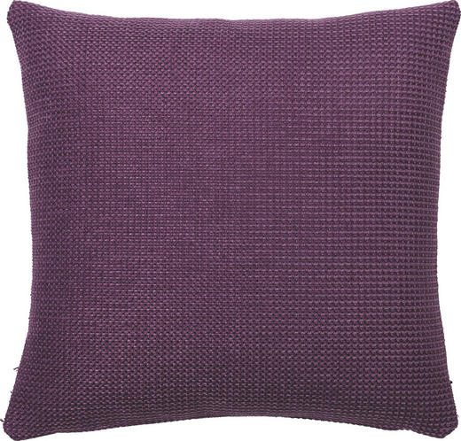 KISSENHÜLLE Lila 40/40 cm - Lila, Basics, Textil (40/40cm)