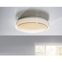 LED-DECKENLEUCHTE   - Weiß, Design, Kunststoff (35cm) - Boxxx