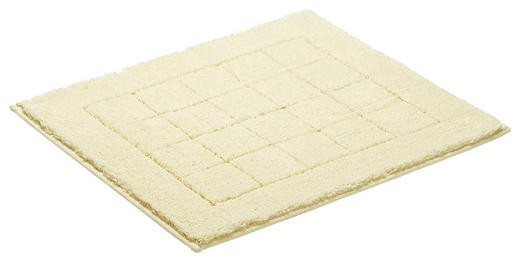 PŘEDLOŽKA KOUPELNOVÁ - krémová, Basics, textil/umělá hmota (55/65cm) - Vossen