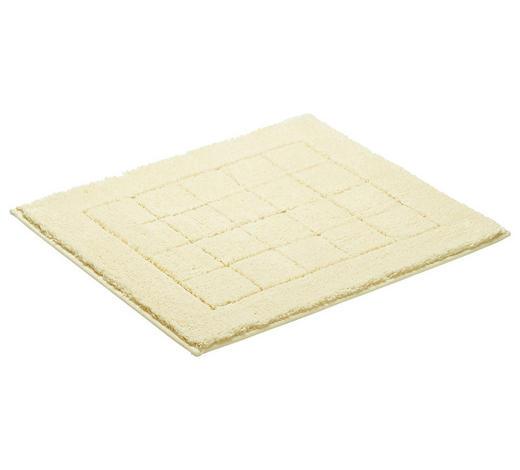 PŘEDLOŽKA KOUPELNOVÁ - krémová, Basics, textilie/umělá hmota (55/65cm) - Vossen