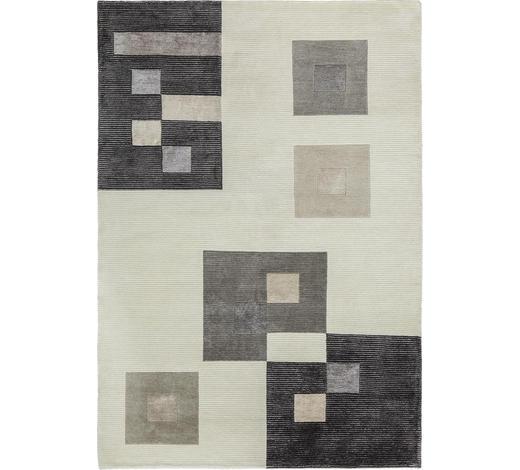 KOBEREC ORIENTÁLNÍ, 160/230 cm, barvy stříbra, bílá - bílá/barvy stříbra, Konvenční, textil (160/230cm) - Esposa