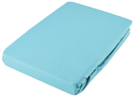 SPANNLEINTUCH 180/200 cm - Türkis, Basics, Textil (180/200cm) - Fussenegger