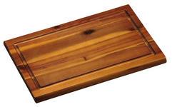 SCHNEIDEBRETT - Akaziefarben, Basics, Holz (21/1,5/32cm) - Homeware