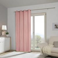 ZÁVĚS HOTOVÝ - světle růžová, Basics, textilie (140/245cm) - Esposa