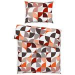 BETTWÄSCHE 140/200 cm  - Orange, Trend, Textil (140/200cm) - Esposa