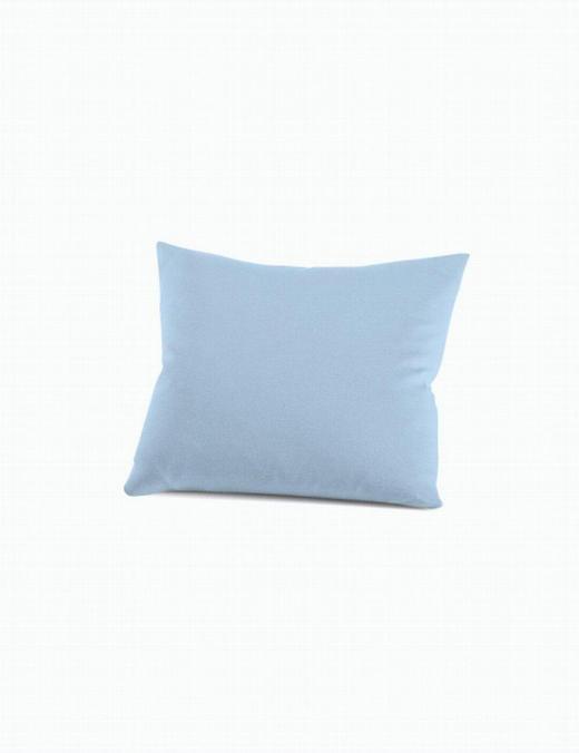 KISSENHÜLLE - Hellblau, Basics, Textil (40 60 cm) - Schlafgut