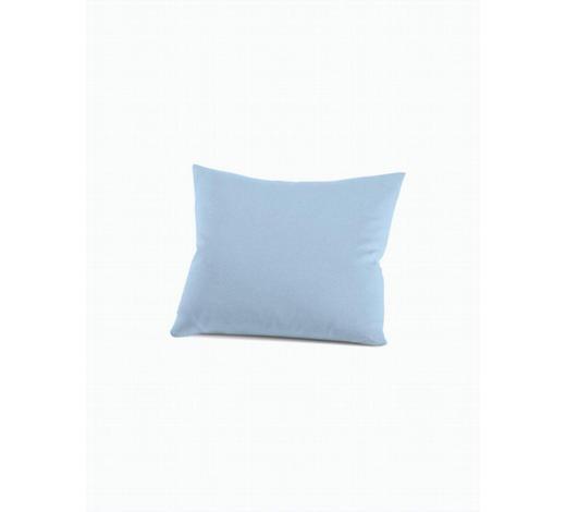 KISSENHÜLLE - Hellblau, Basics, Textil (40/40cm) - Schlafgut