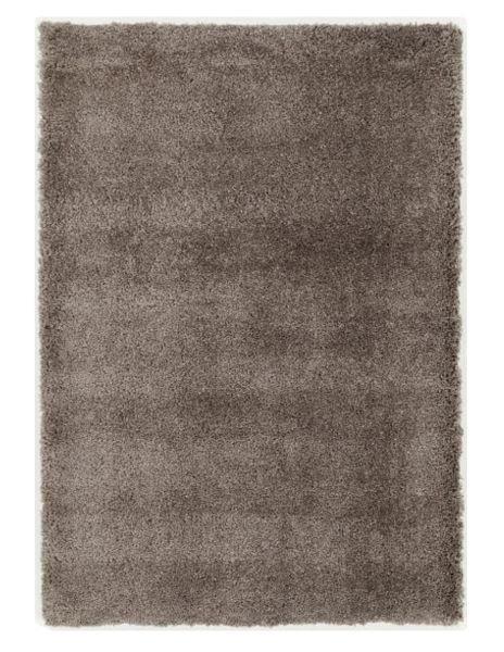 HOCHFLORTEPPICH  67/130 cm   Hellbraun - Hellbraun, Basics, Textil (67/130cm) - Novel