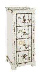 KOMODA - višebojno/brončana, Lifestyle, metal/drvo (30/76/27cm) - LANDSCAPE