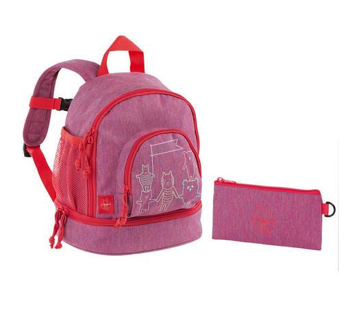 KINDERRUCKSACK - Pink, Basics, Textil (24,5/15,5/27cm) - Lässig
