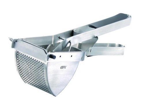 KARTOFFELPRESSE - Edelstahlfarben, Basics, Kunststoff/Metall (30,0/11,8/10,0cm) - Gefu