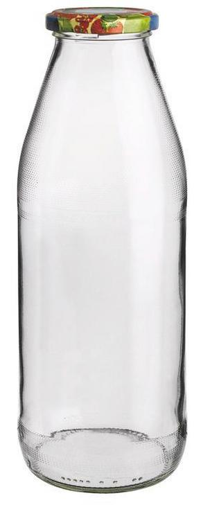 SAFTFLASKA - klar/multicolor, Basics, glas (8,1/2,55/8,1cm) - Homeware