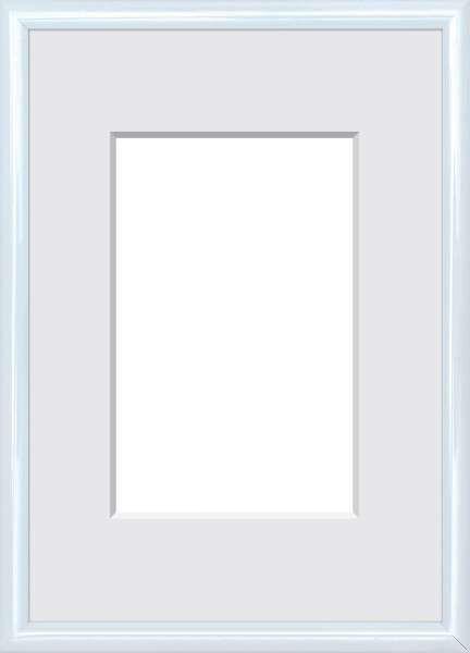BILDERRAHMEN  Weiß - Weiß, Basics, Glas/Kunststoff (51/41/1.75cm)
