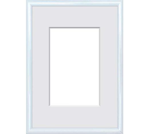 BILDERRAHMEN  Weiß  - Weiß, Basics, Glas/Kunststoff (40/50cm)