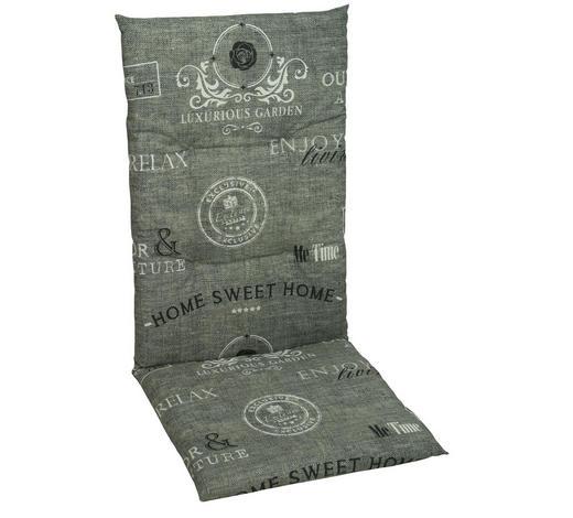 SESSELAUFLAGE in Grau - Grau, Design, Textil (48/118/5cm)