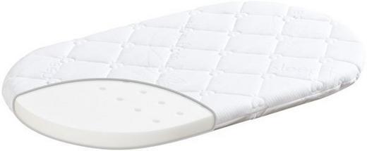 STUBENWAGENMATRATZE Sleep Fresh - Weiß, Basics, Textil (70/37/5cm) - Träumeland