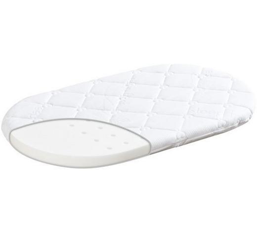 STUBENWAGENMATRATZE Sleep Fresh  - Weiß, Basics, Textil (37/70cm) - Träumeland